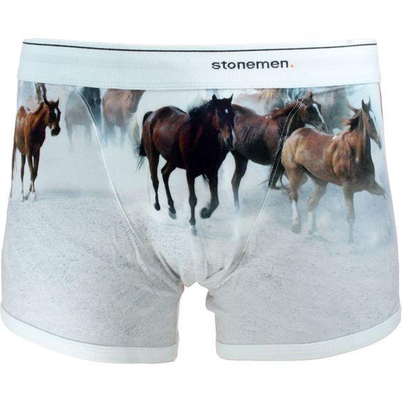 Horses | Boxer briefs - Stretch cotton