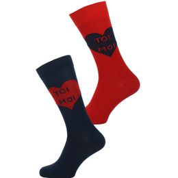PK2 | 2-pack socks - Cotton and stretch polyamide