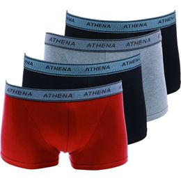 Lot de 4 | 4-pack boxer briefs - Stretch cotton