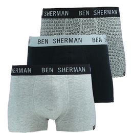 Wharton | 3-pack boxer briefs - Stretch cotton