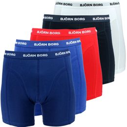 Solids | 5-pack boxer briefs - Stretch cotton