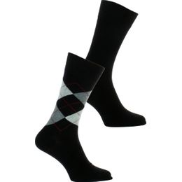 E Day Mix | 2-pack socks - Cotton and stretch polyamide