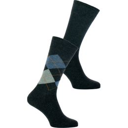 Mix | 2-pack socks - Cotton and stretch polyamide