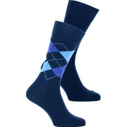 E-day Mix SO | 2-pack socks - Cotton and stretch polyamide