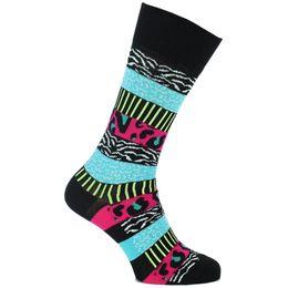 Wild Stripes | Socks - Cotton and stretch polyamide