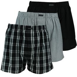 U1732A | 3-pack boxer shorts - Cotton and polyester