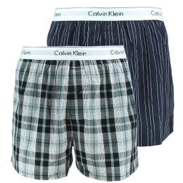 Modern cotton stretch | 2-pack boxer shorts - 100% cotton