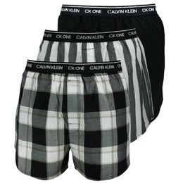 CK One Woven | 3-pack boxer shorts - 100% cotton