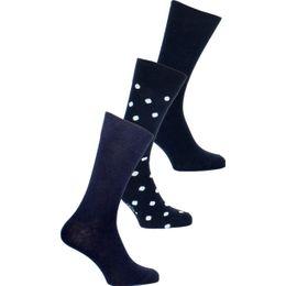 Fidot | 3-pack socks - Cotton and stretch polyamide
