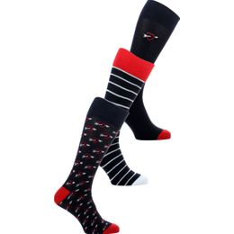 GISOCLOVE | 3-pack socks - Cotton and stretch polyamide