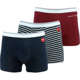 LIAMORE | 3-pack boxer briefs - Stretch cotton