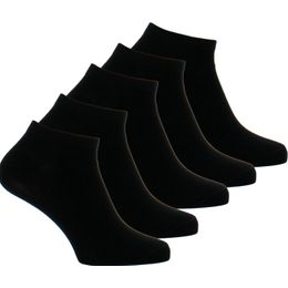 5-Pack | 5-pack ankle socks - Cotton and stretch polyamide