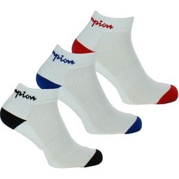 Performance | 3-pack ankle socks - Cotton, stretch polyester and polyamide