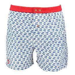 Poissons bleus   Boxer shorts - 100% cotton