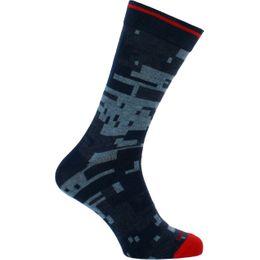 Skm-Ray | Socks - Cotton and stretch polyamide