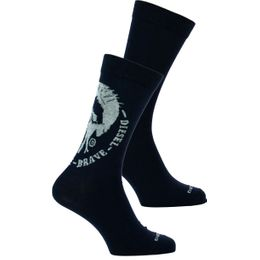 Skm-Ray-Twopack | 2-pack socks - Cotton and stretch polyamide