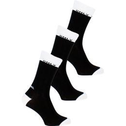 00SAYJ-0BAPM | 3-pack socks - Cotton and stretch nylon