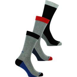 Skm-Ray-Threepack | 3-pack socks - Cotton and stretch polyamide