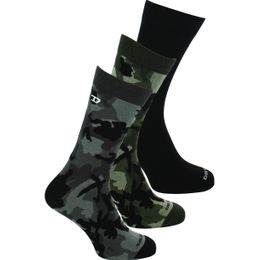 Skm Ray | 3-pack socks - Cotton and stretch polyamide