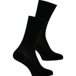 Motif business | 2-pack socks - Cotton and polyamide