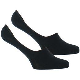 Basique coton | Lote de 2 pares de calcetines invisibles - Algodón y poliamida stretch