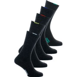 4CU | 5-pack socks - Polyester and stretch cotton
