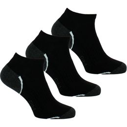 Sport | 3-pack ankle socks - Polyester and stretch cotton