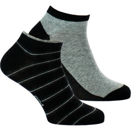 Coton Style | 2-pack ankle socks - Cotton, polyester and stretch polyamide