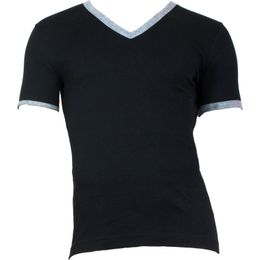 Deep V-Neck | T-shirt - Stretch cotton