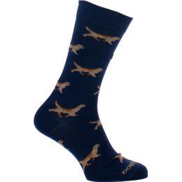 Chien | 1 par de calcetines clásicos - Algodón y poliamida stretch