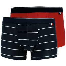 Made in France | 2-pack boxer briefs - Stretch cotton