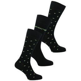 All over eagle | 2-pack socks - Cotton and stretch polyamide