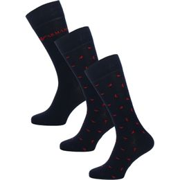 All over eagle | 3-pack socks - Cotton and stretch polyamide