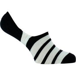 Even stripe | Invisible socks - Cotton and stretch modal
