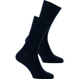 Esprit | Lote de 2 pares de calcetines clásicos - Algodón y poliamida stretch