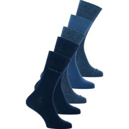 Esprit | 5-pack socks - Cotton and stretch polyamide