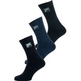F9000 | 3-pack socks - Cotton and stretch polyester