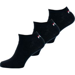 F9100 | 3-pack ankle socks - Cotton and stretch polyester