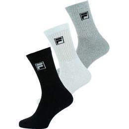 F9000 | Lote de 3 pares de calcetines clásicos - Algodón y poliéster stretch