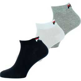 F9300 | 3-pack ankle socks - Cotton and stretch polyester