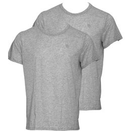 Base HTR R 2 | 2-pack T-shirt - Cotton and polyester