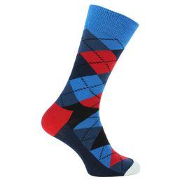 Argyle | Socks - Cotton and stretch polyamide