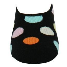 Big dot   Lote de 3 pares de calcetines invisibles - Algodón y poliamida stretch
