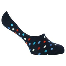 Dot liner | Invisible socks - Cotton and stretch nylon