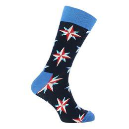 Nautical star | Socks - Cotton and stretch polyamide