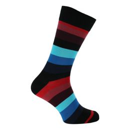 Stripes   1 par de calcetines clásicos - Algodón y poliamida stretch