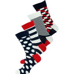 Boite cadeau | 4-pack socks - Cotton and stretch polyamide