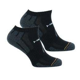 Performance | 2-pack ankle socks - Polyester, cotton and stretch polyamide