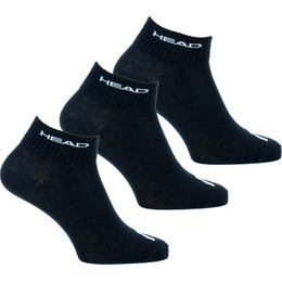 Quarter  | 3-pack ankle socks - Cotton, polyester and stretch polyamide