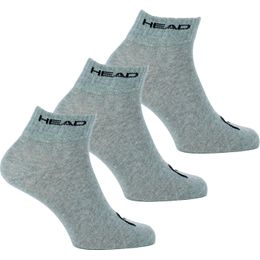 Quarter  | 3-pack short socks - Cotton, polyester and stretch polyamide